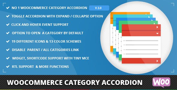 WooCommerce Category Accordion        Nulled