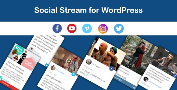 Saragna - Social Stream WordPress - CodeCanyon Item for Sale