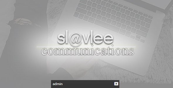 Slavlee Communications - CodeCanyon Item for Sale
