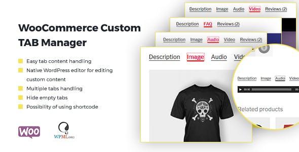 WooCommerce Custom Tab Manager