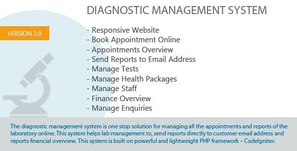 Diagnostic Management System