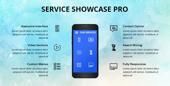 Services Showcase Wordpress Plugin