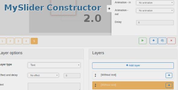 MySlider Constructor