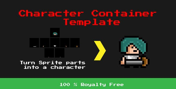 Character Container Template - Desktop Edition
