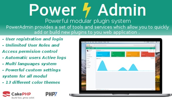 PowerAdmin - - Advanced PHP Admin Management - CodeCanyon Item for Sale