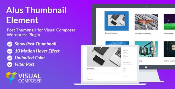 Alus Thumbnails - Visual Composer addon