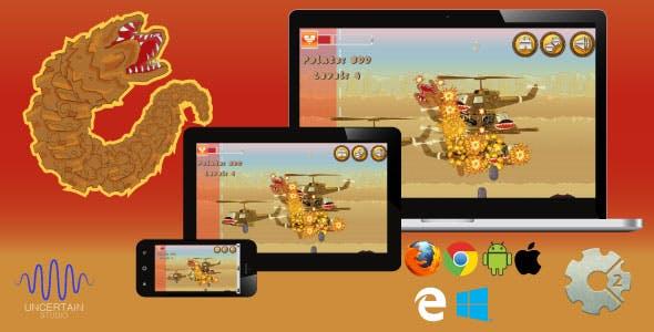 Sand Worm - HTML5 Game