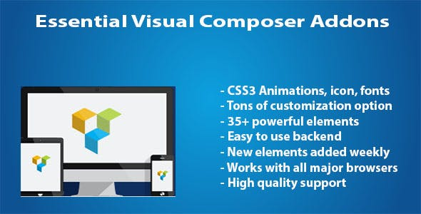Essential WPBakery Page Builder (formerly Visual Composer) Addons