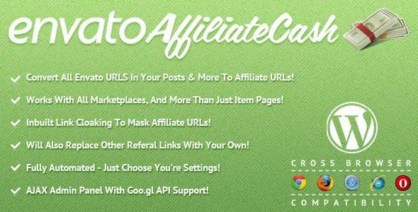 Envato Affiliate Cash for WordPress