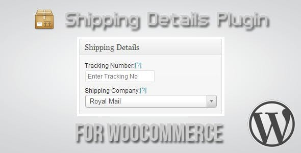 Shipping Details Plugin for WooCommerce        Nulled
