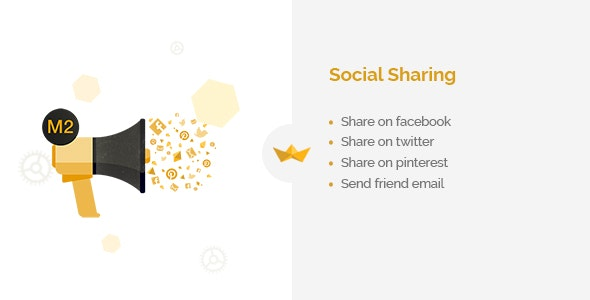 Social Sharing for Magento 2 - CodeCanyon Item for Sale