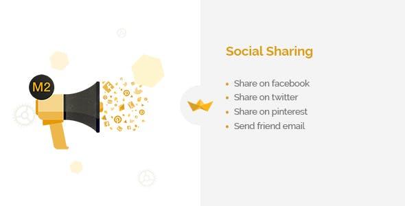 Social Sharing for Magento 2