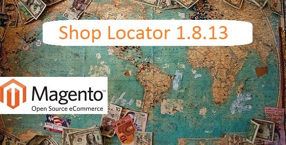 Shop Locator 1.8.12 for Magento 1.9.3.1