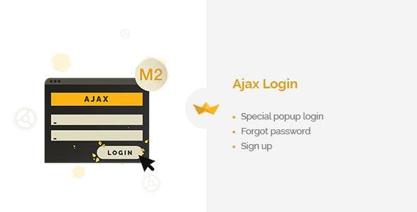 Ajax Login for Magento 2