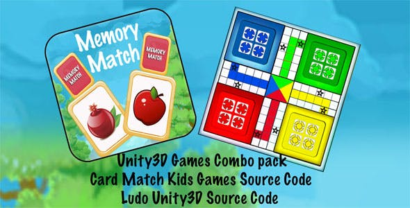 2 Games Bundle Unity3D project with Admob + Ready for Android iOS + (Kids Games) + (2 in 1 Project)