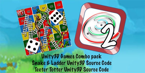2 Games Bundle Unity3D with ADMOB part2 + (Ready for Android iOS) + (2 in 1 Project)