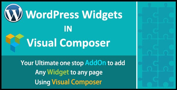 WordPress Widgets in Visual Composer | WordPress Widgets in WPBakery Page Builder
