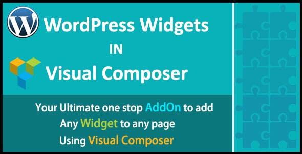 WordPress Widgets in Visual Composer | WordPress Widgets in WPBakery Page Builder