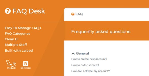 FAQDesk -  Frequently asked questions management system