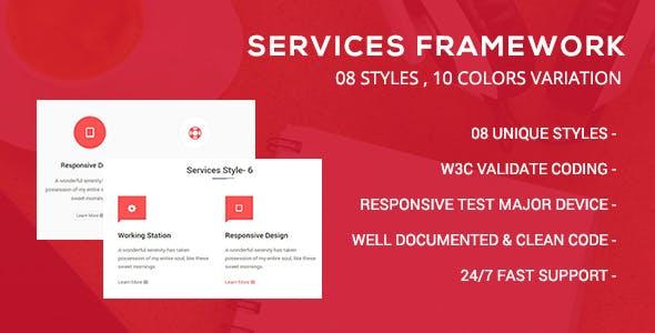 CSS3 Services Framework