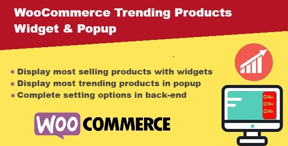 WooCommerce Trending Products Widgets & Popups