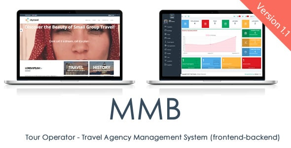 MMB Tour Operator - Travel Agency Management System and CMS - CodeCanyon Item for Sale