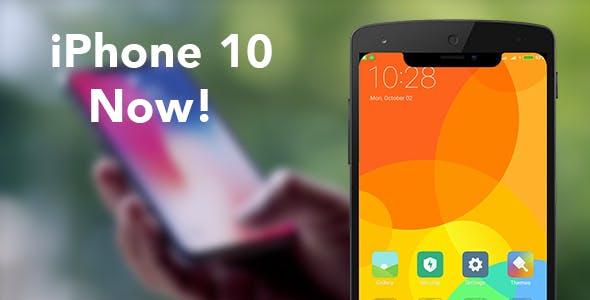 iPhone X Now!