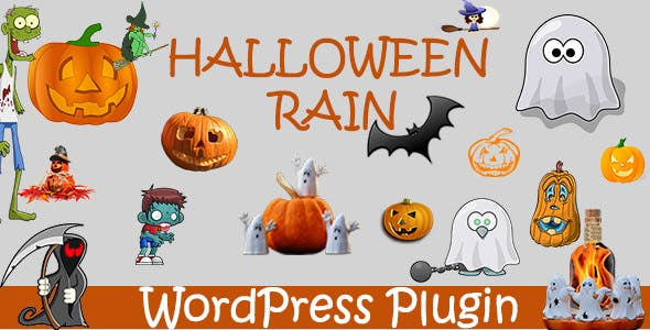 Halloween Rain - Wordpress Plugin