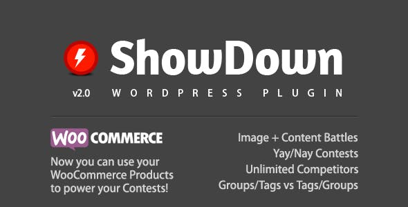 ShowDown WordPress Plugin