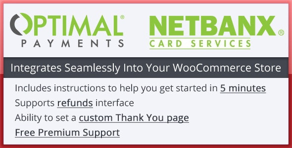 Woocommerce Netbanx Payment Gateway - CodeCanyon Item for Sale