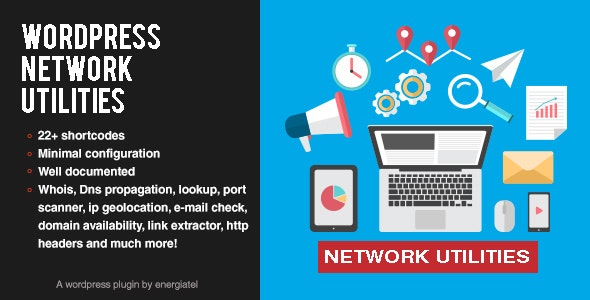 Wp Network Utilities - CodeCanyon Item for Sale