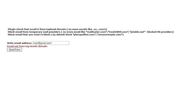 NoSpam – CustomValidator - CodeCanyon Item for Sale