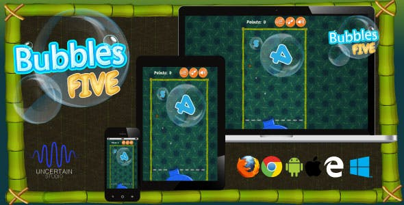 Bubbles Five - HTML5 Game