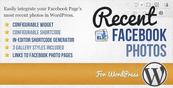 Recent Facebook Photos: A Plugin for WordPress