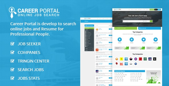 Career Portal - Online Job Search Script - CodeCanyon Item for Sale