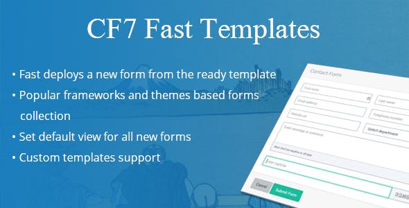 CF7 Fast Templates