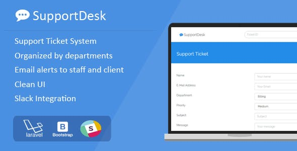 SupportDesk - Support Ticket Management System