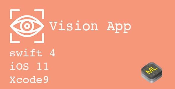 Vision App - Core ML