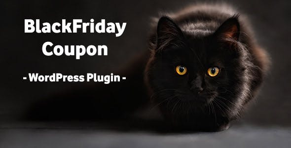 BlackFriday Coupon - Wordpress Plugin