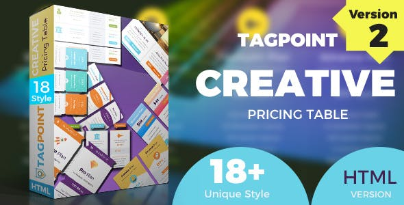 TAGPOINT - Creative Responsive Pricing Table