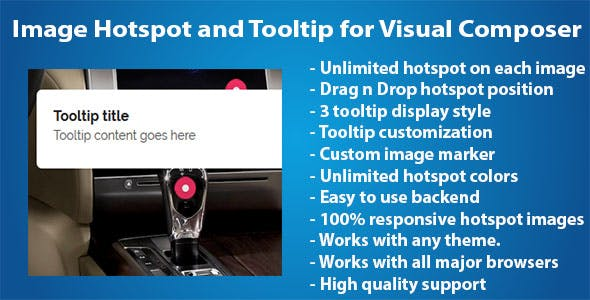 Image Hotspot and Tooltip for Visual Composer