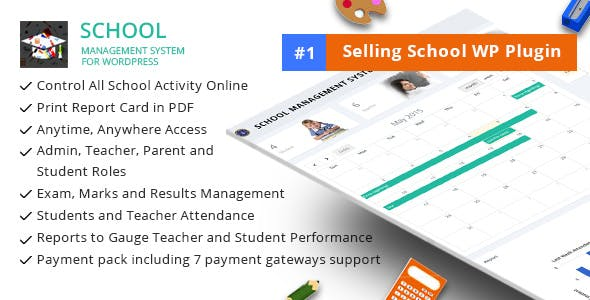 School Management System Plugins, Code & Scripts from CodeCanyon