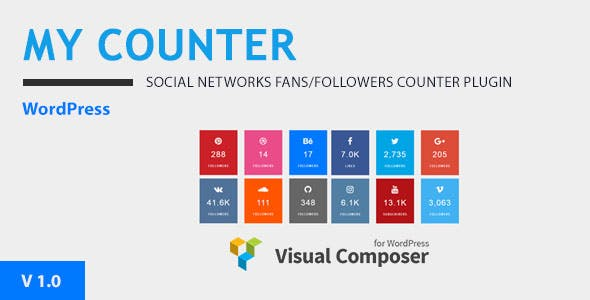 MY-Counter | Visual Composer Addon & WordPress Widget