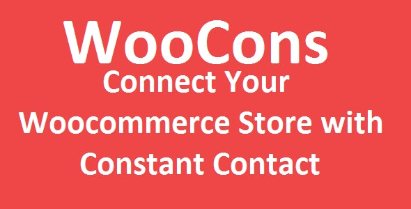 Woocommerce Constant Contact Integration - CodeCanyon Item for Sale