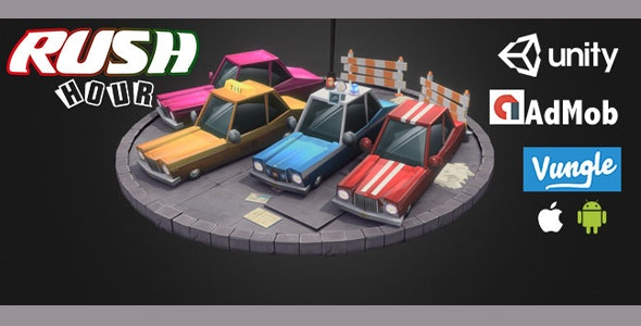 Rush Hour 3D iOS / Android / unity - CodeCanyon Item for Sale