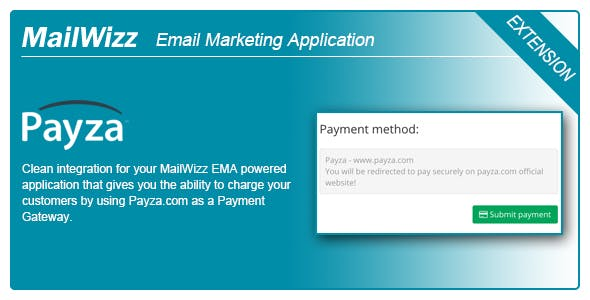 MailWizz EMA integration with Payza Payment Gateway