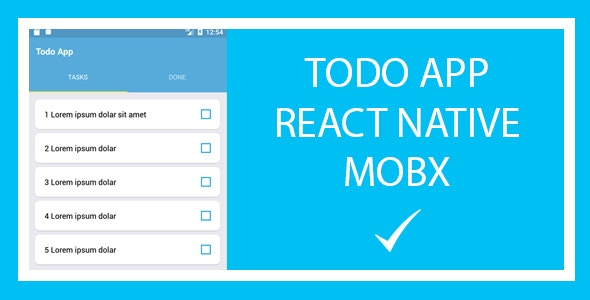 Todo List - React Native App - CodeCanyon Item for Sale