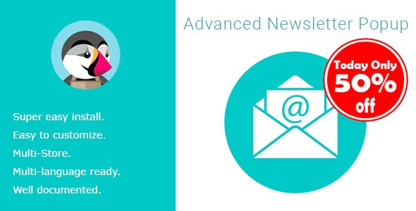 Email Marketing Newsletter Subscription Popup