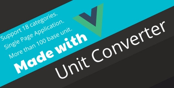 Unit Converter -  The Most Comprehensive Unit Conversion Application - CodeCanyon Item for Sale