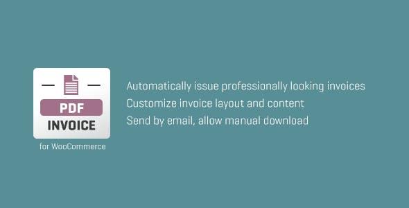 WooCommerce PDF Invoice - CodeCanyon Item for Sale